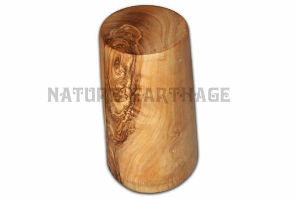 olive wood cup